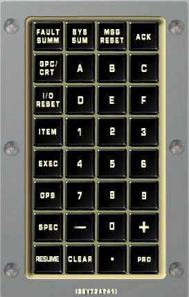 SSM2007 Keypad