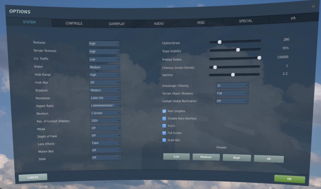 DCS VR performance 2 5 3 vs 2 5 4 - Uri_ba's pit build blog